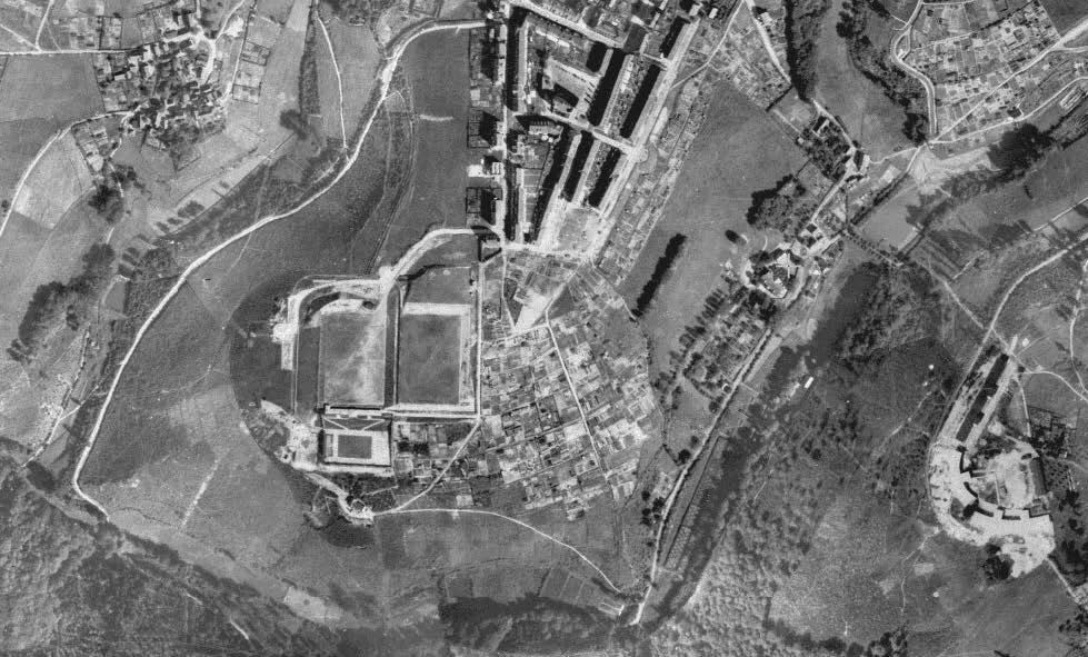 Luftbildkarte von 1928
